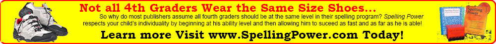 Give your students Spelling Power