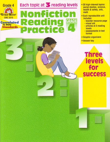 I found Nonfiction Reading Practice (Grade 4) by at CastlemoyleBooks com